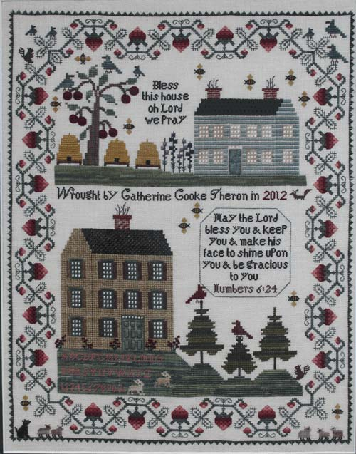 """Bless This House"" Sampler with Catherine Theron"