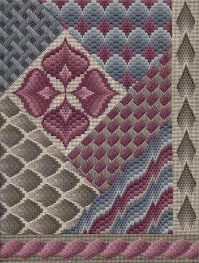 """Bargello Challenge"" by Gail Stafford"